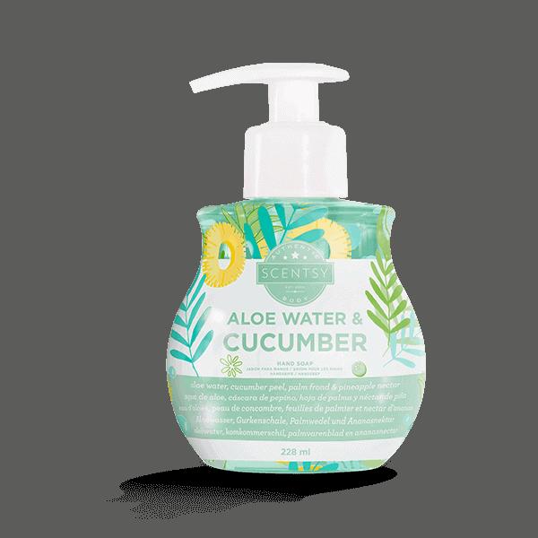 Aloe Water Cucumber Scentsy Hand Soap