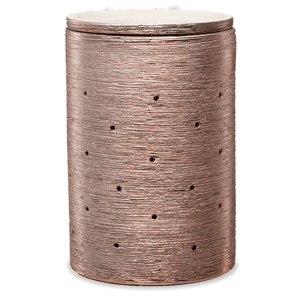 ETCHED CORE-ROSE GOLD SCENTSY WAX WARMER