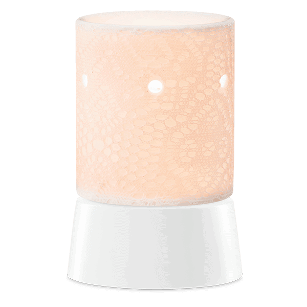 Lace Tabletop Scentsy Warmer