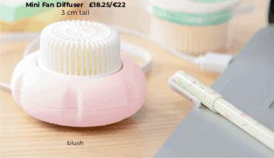 Mint Scentsy Mini Fan Diffuser