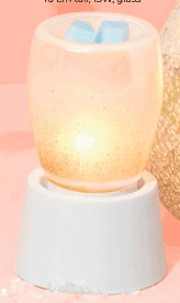 Perfect Pearl Scentsy Tabletop Wax Warmer