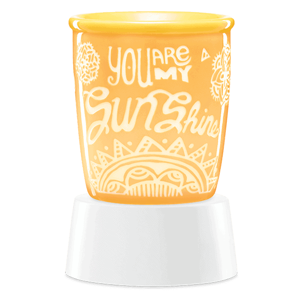 YOU ARE MY SUNSHINE TABLETOP SCENTSY WAX WARMER