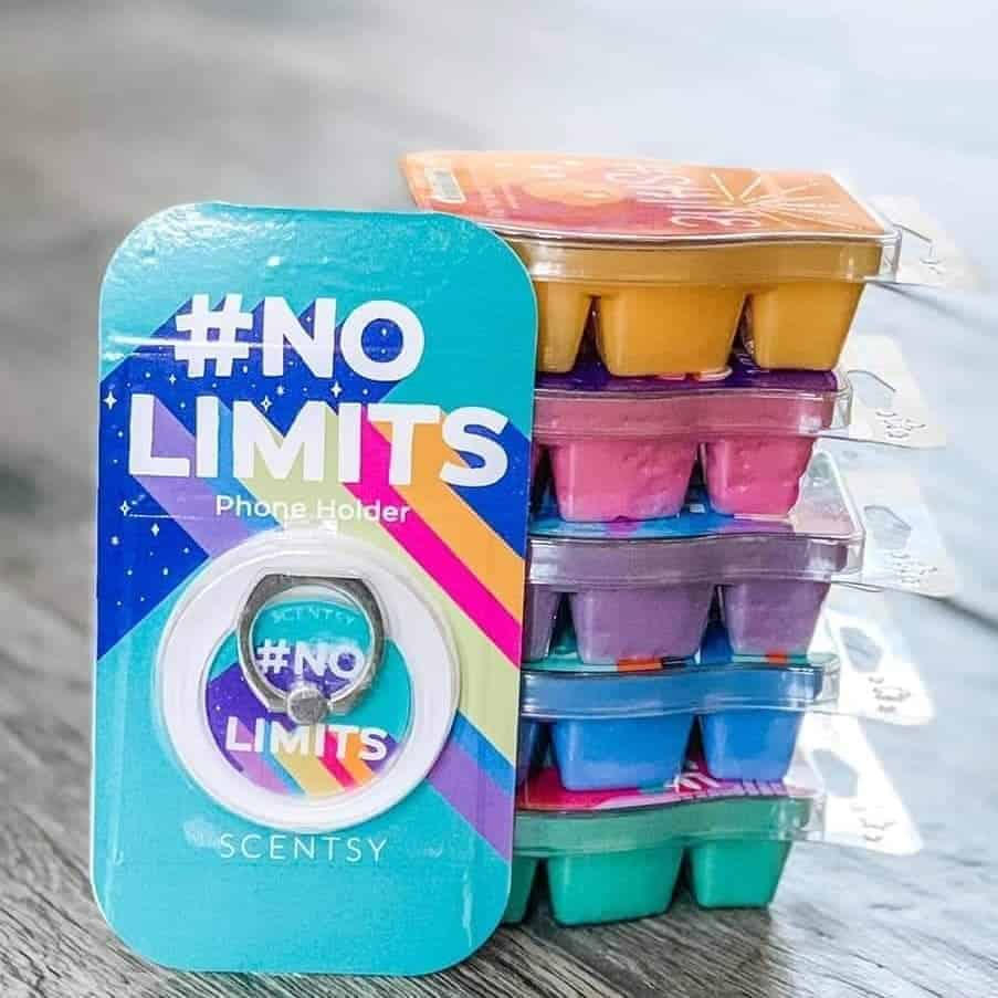 #nolimits Scentsy Wax Collection