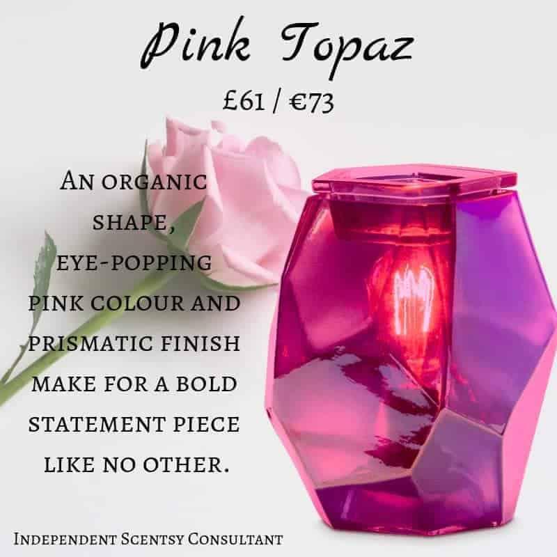Pink Topaz Scentsy Warmer